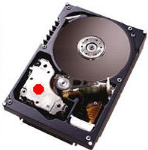 Démonter le disque dur pour accéder à l'aimant
