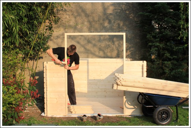 Installation de l'insert de porte