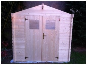 Construction cabane bois