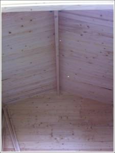Rendu intérieur du toit