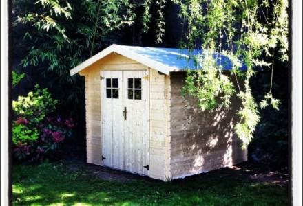 Cabane de Jardin terminée