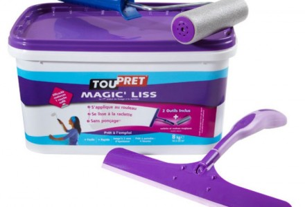 Enduit de lissage : Magic liss