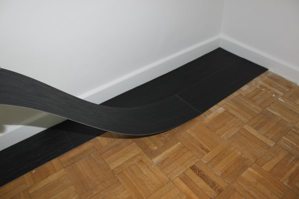 Test lames auto adh sives gerflor for Sol vinyle sans colle