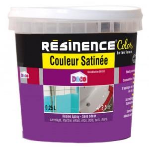 Test produit Résinence Color