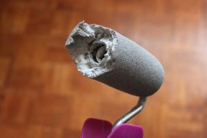 Les soucis technique du rouleau mousse