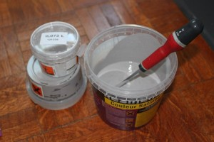 Préparation de la couleur Résinence Color