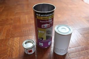 Préparation de la résine polyréthane