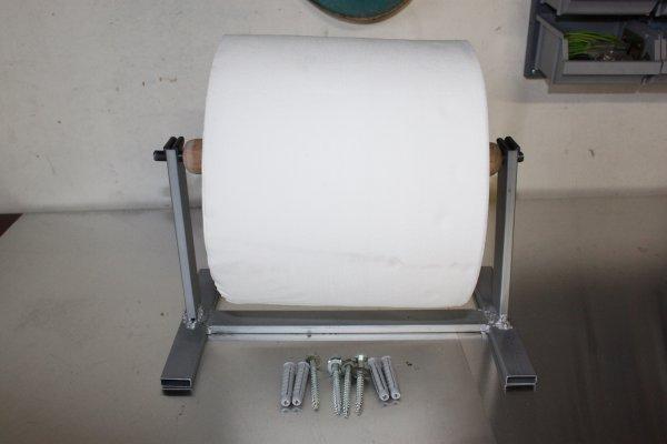 Fabriquer un d rouleur essuie main - Fabriquer un derouleur de papier toilette ...