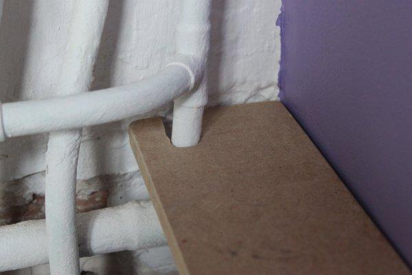 Retirer l'emprunte marquée sur la planche et tester la découpe