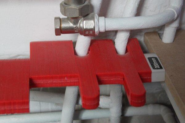 Utiliser la jauge de contour pour délimiter les tuyaux