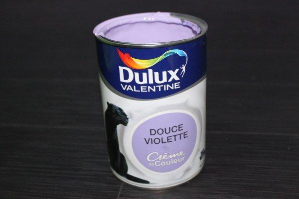 Test dulux valentine cr me de couleur for Peinture pour email baignoire