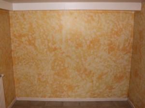 1 - le mur avant peinture