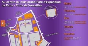 Accès au Salon Rénover Paris