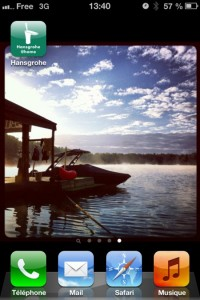 Installez l'application Hansgrohe @Home sur votre téléphone
