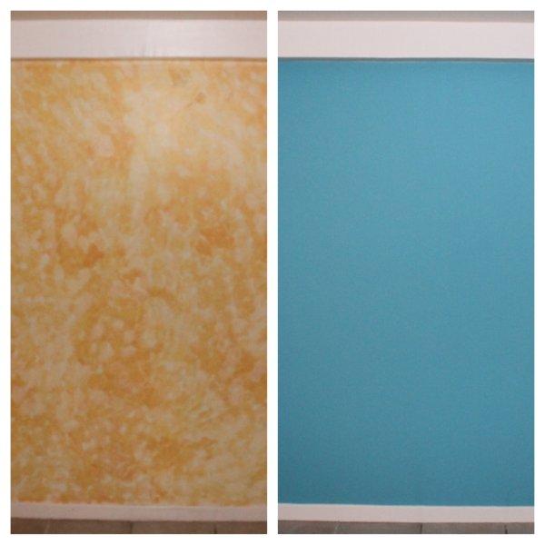 Avant apr s peinture d 39 une chambre La peinture des chambres