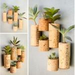 D.I.Y. Pot de plantes en bouchon
