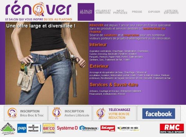 Site internet salon renover zonetravaux bricolage for Meilleur site jardinage