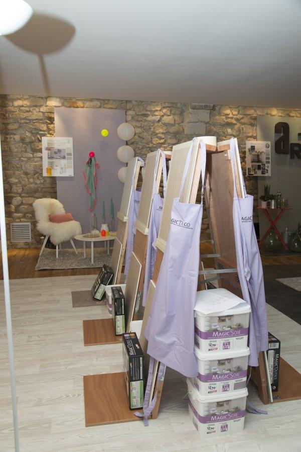 Atelier magic d co copyright toupret alain eli 5 for Toupret decoration