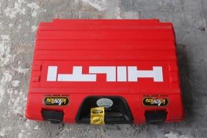 La boîte du burineur HILTI TE 700-AVR