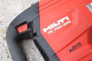 L'interrupteur de mise sous tension du Burineur HILTI TE 700-AVR (6)