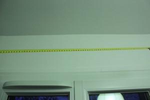 Positionnez le centre de votre fenêtre pour aligner la tringle
