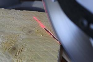 En coupe biseau, le résultat des lasers est parfait !