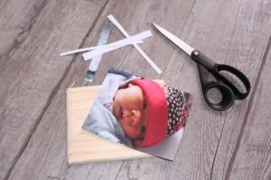 Découper votre photo à la taille du support en bois