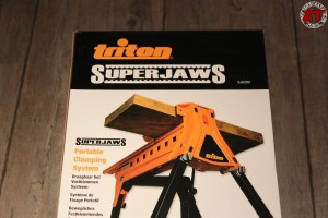 Déballage de l'étau Triton SuperJaws