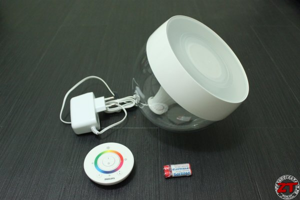 contenu de la lampe philips livingcolors iris - Lampe Philips Color