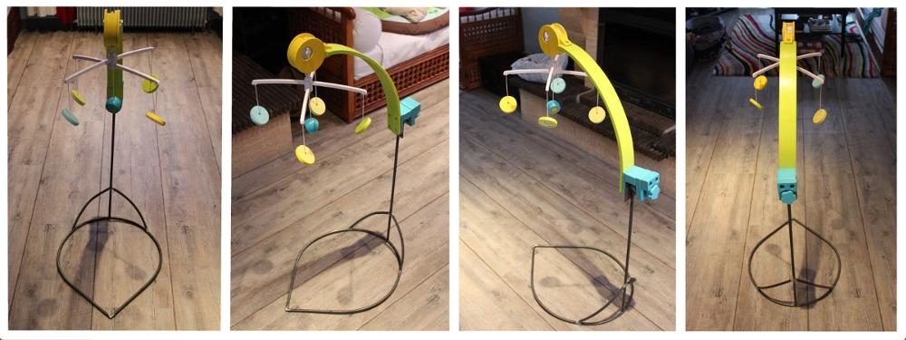 support pour mobile musical. Black Bedroom Furniture Sets. Home Design Ideas