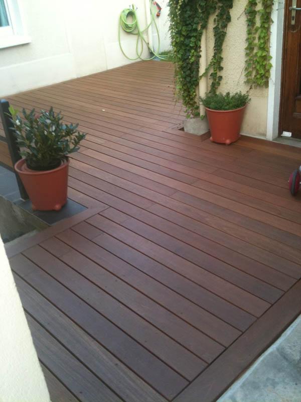 Conception d 39 une terrasse en bois - Calepinage terrasse bois ...