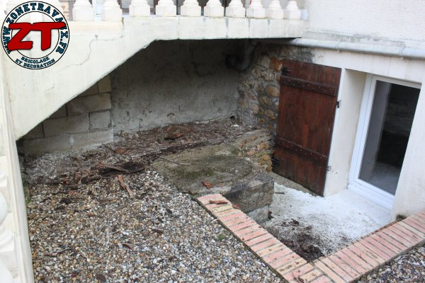 Terrasse - Avant les travaux
