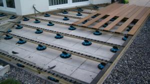 Système de fixation GRAD pour terrasse en bois