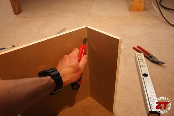cloison placo decoupe plaque 4 zonetravaux bricolage d coration outillage jardinage. Black Bedroom Furniture Sets. Home Design Ideas