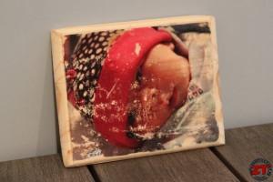 Transférer une photo sur bois