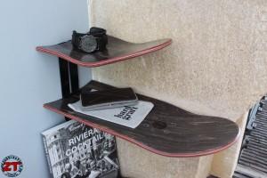 Étagère skateboard
