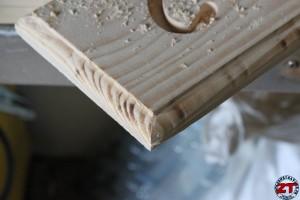 Gravage sur plaque de bois