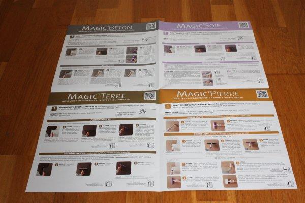 Et pour nous, en particulier, la page dédiée au Magic'Béton car ...