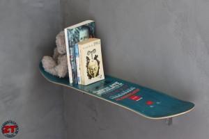 table de chevet skateboard