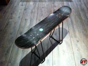 La chaise Skateboard