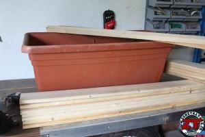 Fabrication bac à plantes