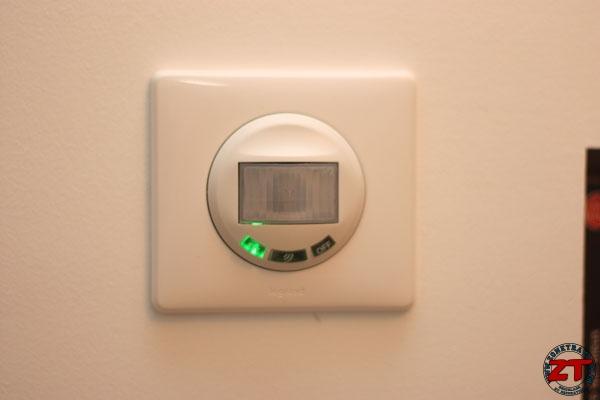 Test l 39 interrupteur automatique legrand - Eclairage automatique pour dressing ...