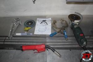 Fabriquer un porte brochettes