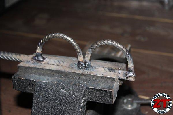 Porte brochettes DIY