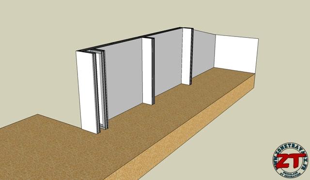 tuto r alisation d 39 un garde corps en placo. Black Bedroom Furniture Sets. Home Design Ideas