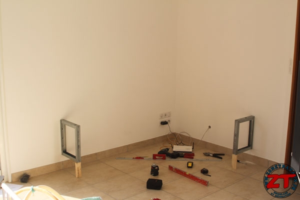 tuto cr ation d 39 un meuble tv en placo. Black Bedroom Furniture Sets. Home Design Ideas