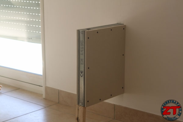 meuble tv ferme avec portes encastrables – Artzeincom -> Meuble Avec Tv Encastrable