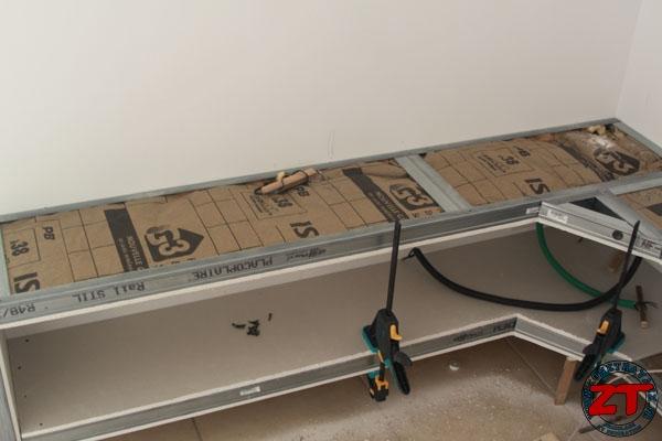 Tuto  Création dun meuble TV en placo