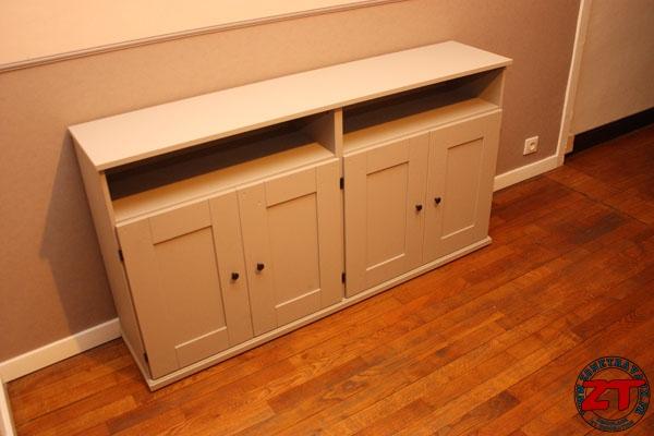 Tuto repeindre un meuble en kit - Peinture pour meuble ikea ...