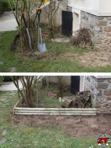 Bordure de jardin avant apres (1)